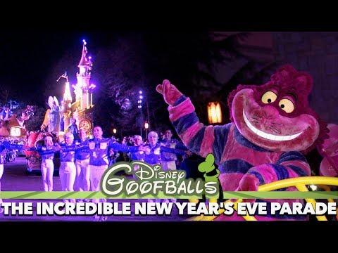 The Incredible New Year's Eve Parade - Disneyland Paris 2018