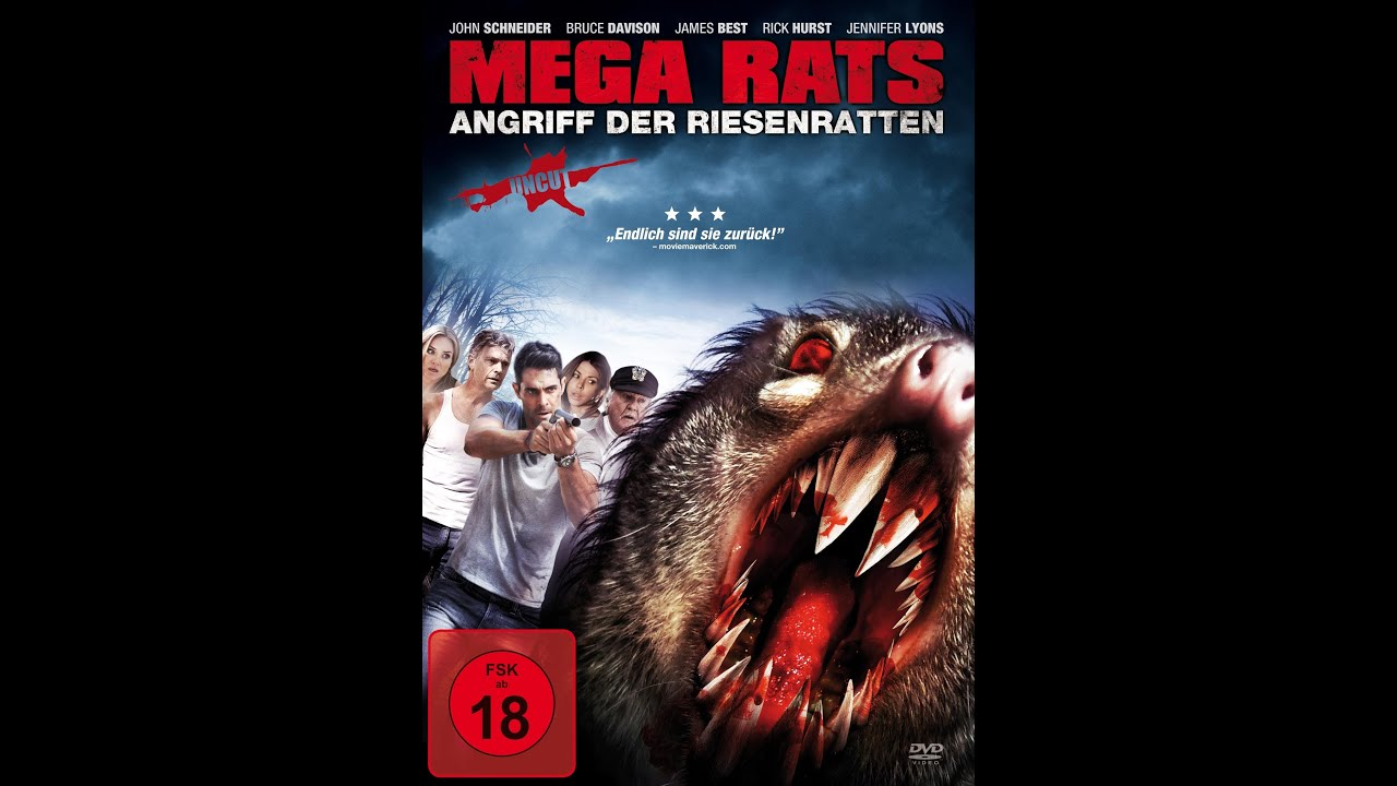 24 Movie Mega Rats - Angriff Der Riesenratten [trailer] Uncut - Youtube
