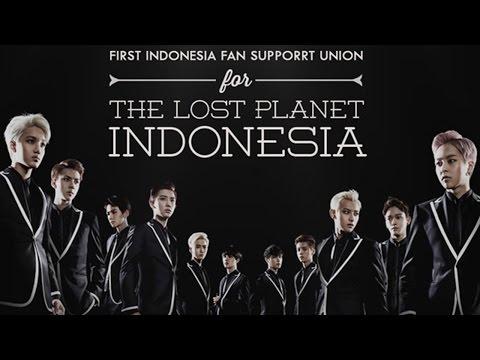 EXO Siap Konser Lagi di Indonesia dengan Formasi Baru 2015 - Konser EXO The Lost Planet