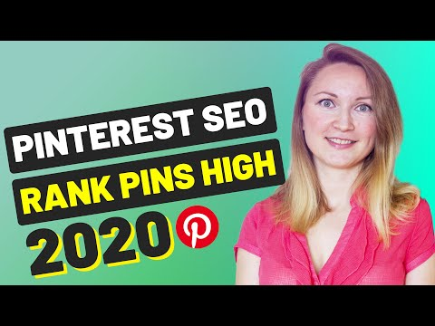 PINTEREST SEO 2020 | Get Free Search Traffic And Rank High