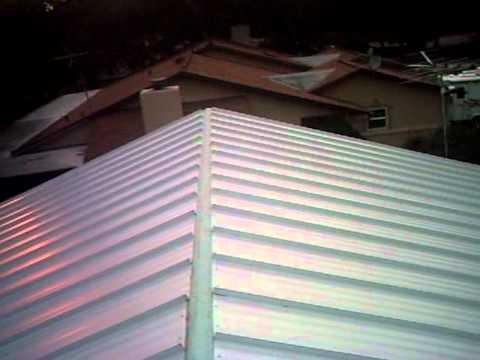 DIY Standing Seam Metal Roof Florida Project