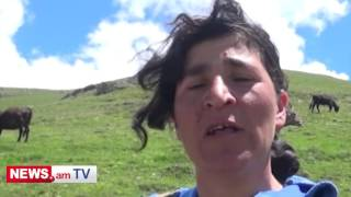 Ուռուտցի կինը ենթարկվել է գայլերի հարձակման եւ պահանջում է, որ գյուղապետը պաշտպանի  իրեն