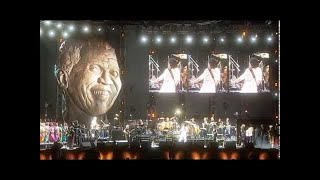Queen - Invincible Hope w/ Nelson Mandela / The Call - feat Brian May / The Show Must Go On  (46664)