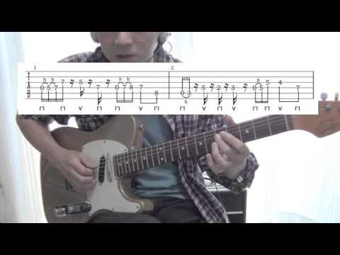 ■TAB譜付■RADWIMPS おしゃかしゃま のイントロギターフレーズの解説です。
