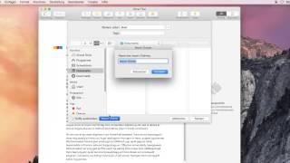 OS X Anleitung: Dokumente speichern & Time Machine Backup erstellen