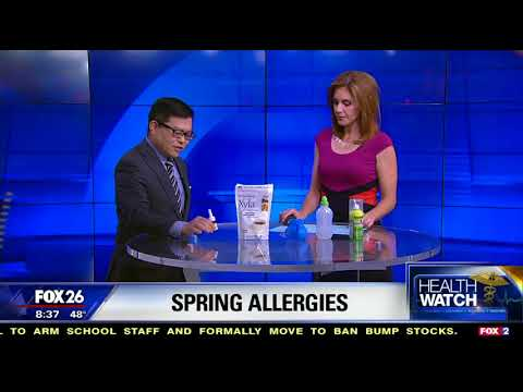 Dr. Takashima talks Allergies for Fox 2018