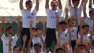 2014 不破中学校 運動会 赤団 応援合戦