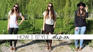 ♡ HOW I STYLE slip-on Thumbnail