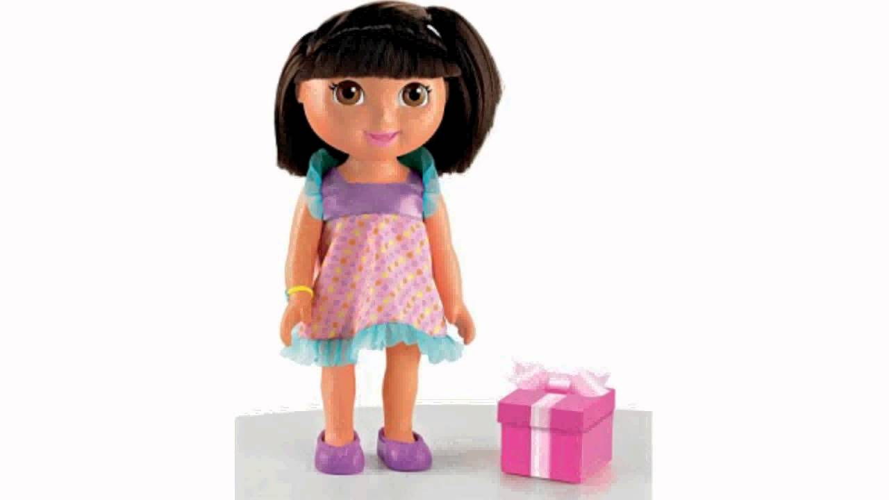 Fisher Price Dora The Explorer Birthday Doll Toy Youtube