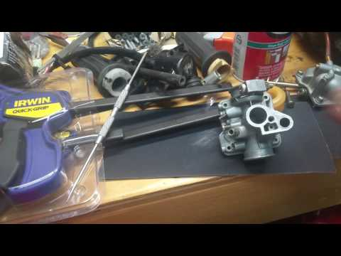 Yamaha pw50 mikuni carburetor throttle slide repair (for stuck throttles)