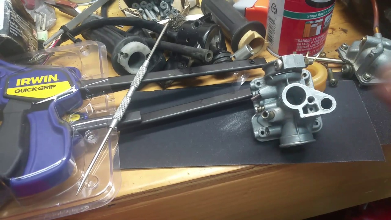 hight resolution of yamaha pw50 mikuni carburetor throttle slide repair for stuck yamaha 50 carburetor diagram also dirt bike throttle cable diagram get