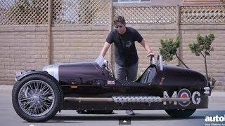 Morgan 3 Wheeler Test Drive Video Review
