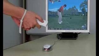 Play PC Game via WeStick (Tiger Wood PGA Tour 08)