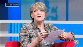 Rita Bernardini Sovraffollamento nelle carceri Coffee Break La7 02.11.2011