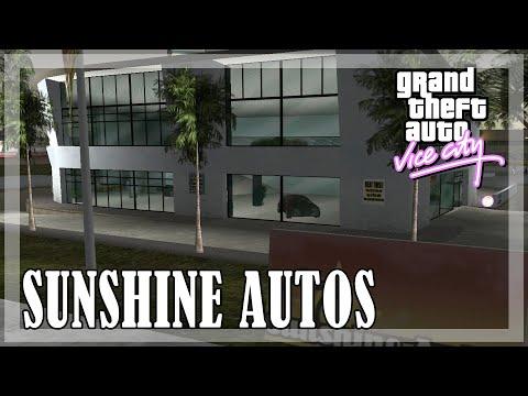 GTA Vice City - All SUNSHINE AUTOS Car List Deliveries