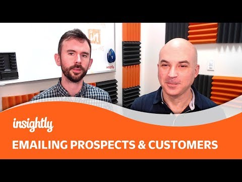 Tutorial: Emailing Prospects & Customers W/ Insightly ✉