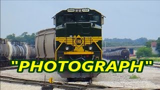 """Photograph"" - Train / Railfanning Music Video"
