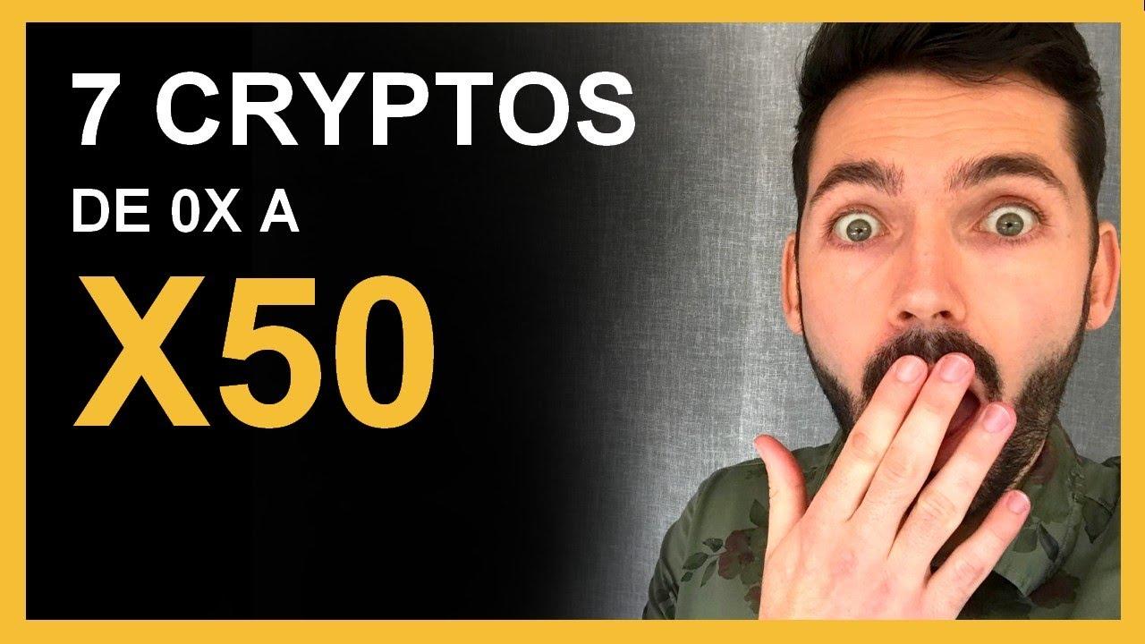 """7 Cryptos """"coup de poker"""" de x0 à x50 ! Crypto monnaie prometteuse TOP 7 - 2021"""