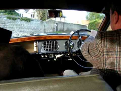 The Wolseley 6/90 with 'John the Driver'