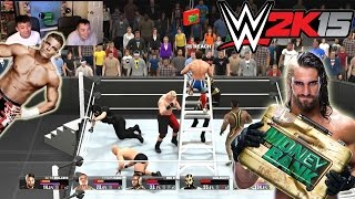 Weakest Link - 6-Man Ladder Match [Elimination] WWE 2K15 Gameplay, Commentary
