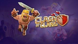 """Стрим игры """"Clash of Clans"""". и чекаю базы"""