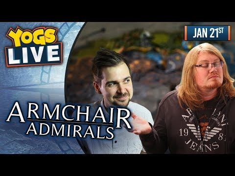 ARMCHAIR ADMIRALS! - Endless Legend  W/ Lewis, Duncan, Rythian & Daltos! - 21st January 2019