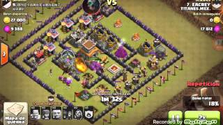 Ataque a aldea rara china |Clash of clans