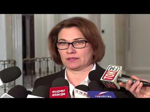 Beata Mazurek poslanka PIS (Kolesie)