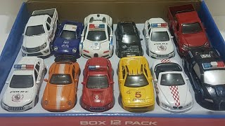Police Cars for Kids transformers robot with another Cars unboxing by Dlan
