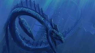 Cryptids and Monsters:  Lagarfljót Worm, the Iceland Worm Monster