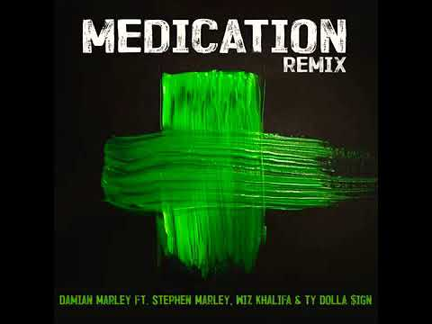 Medication Remix - Wiz Khalifa, Ty Dolla Sign, Damian Marley & Stephen Marley [Audio]