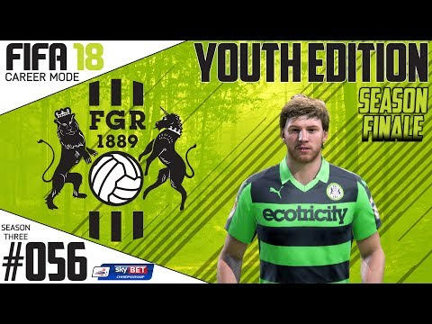 Fifa 18 Career Mode  - Youth Edition - Forest Green Rovers - EP 56