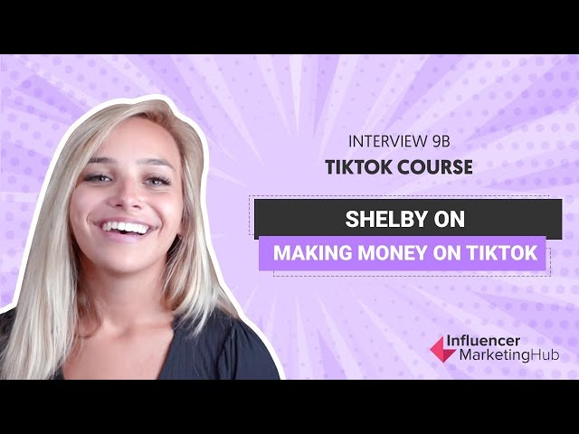 How to get brand deals on TikTok - Free TikTok course - Module 9B