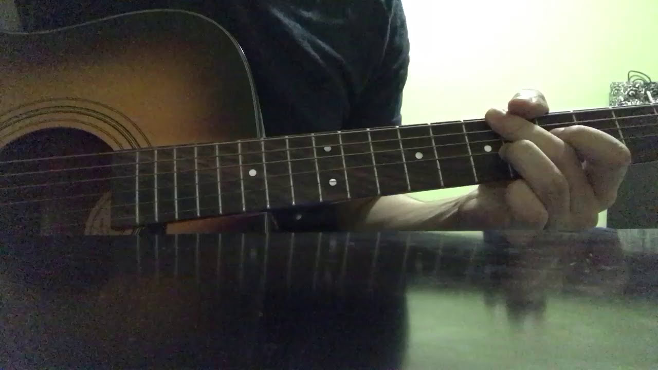 how to play atwa on acoustic guitar