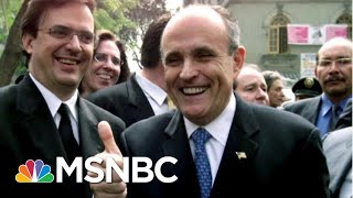 Rejected: See Trump Snub Giuliani As Impeachment Trial Begins | The Beat With Ari Melber | MSNBC
