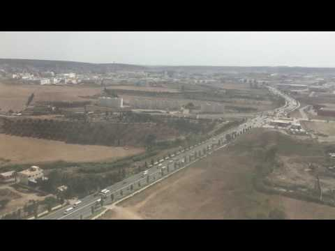 Landing at Tangier Airport (TNG) 3/8/17