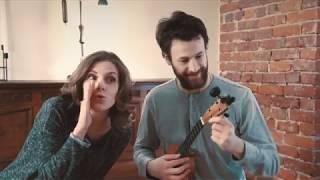Ukulele lesson - How to hold the ukulele. Укулеле урок - Как держать укулеле (with eng sub)