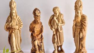 Olive Wood Nativity Sets By Olivewoodpro.com