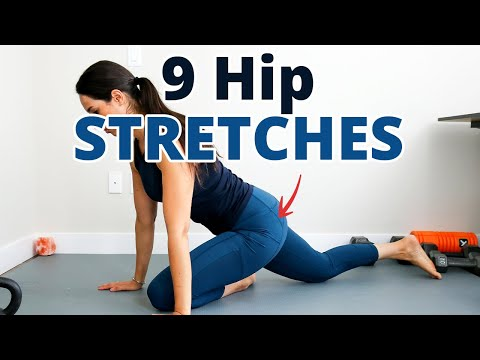 9 Hip Stretches to Alleviate Piriformis Syndrome, and Lower Back Pain