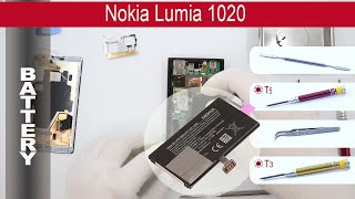 How to replace Battery Nokia Lumia 1020 ( RM-875, RM-876, RM-877, 909 )
