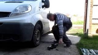 Замена шаровой Renault Trafic (Opel Vivaro, Nissan Primastar)