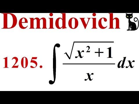 Integración Por Sustitución Trigonométrica. Demidovich 1205