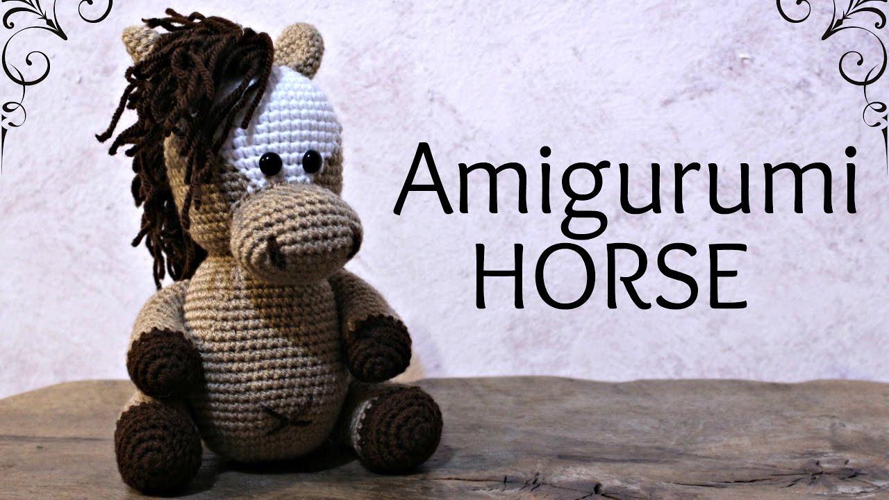 Amigurumis Caballitos A Crochet : Amigurumi horse world of amigurumi youtube