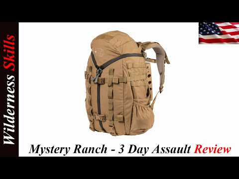 Mystery Ranch - 3 Day Assault BVS Pack Review English Version