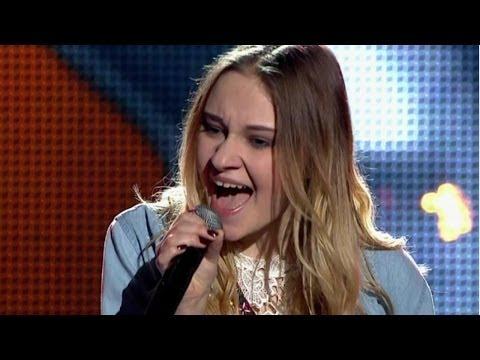 """The Voice of Poland IV - Małgorzata Priebe - """"The Time is Now"""" - Przesłuchania w ciemno"""