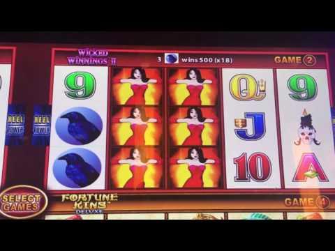 Surprise Win on Wicked Winnings at San Manuel Casino - Chumash Casino - Next Stop