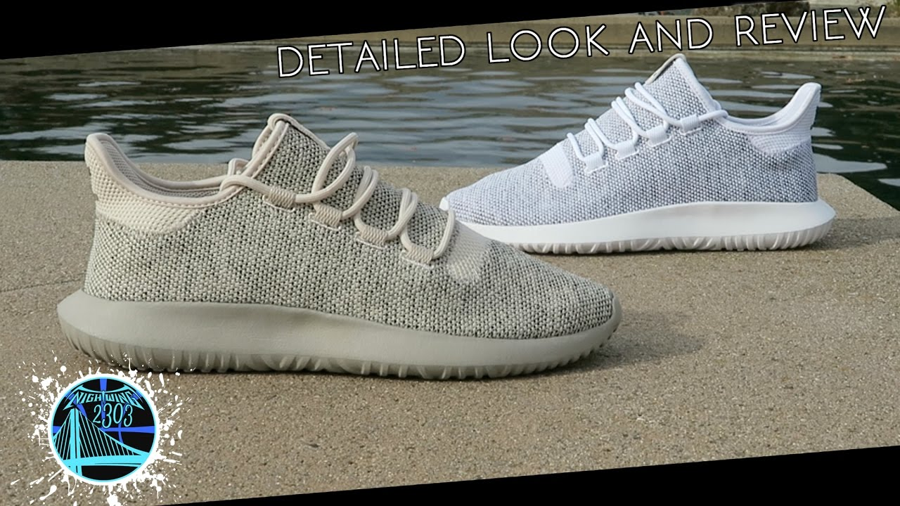 best sneakers c63b3 3f2f4 adidas Tubular Shadow Knit  Detailed Look  Review - YouTube