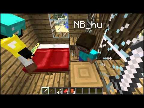 Minecraft magyar film: az elátkozottak