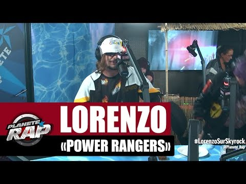 Youtube: Lorenzo « Power Rangers » #PlanèteRap