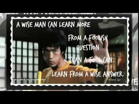 Bruce Lee Quotes Video 2 Of 4 Film